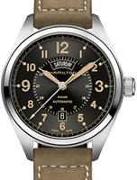 Pre-Owned HAMILTON KHAKI FIELD AUTO DAY DATE
