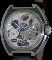 Pre-Owned KRIEGER SKELETON MYSTERIUM SEE-THROUGH