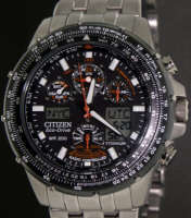 Pre-Owned CITIZEN SKYHAWK A-T TITANIUM ATOMIC