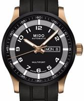Pre-Owned MIDO MULTIFORT ROSE/BLACK