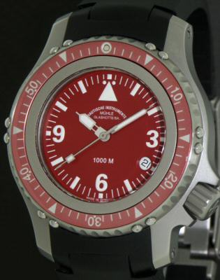 Pre-Owned MUHLE GLASHUTTE RED DIAL RASMUS DIVING