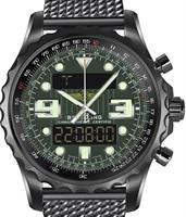 Pre-Owned BREITLING CHRONOSPACE BLACKSTEEL