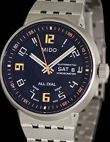 Pre-Owned MIDO ALL DIAL TITANIUM BLACK/ORANGE