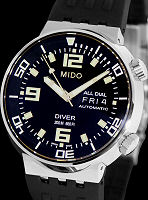 Pre-Owned MIDO ALL DIAL DIVER BLACK