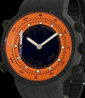 Pre-Owned MOMO DESIGN DIVER EXPLORER ORANGE