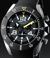 Pre-Owned MOMO DESIGN DIVE MASTER CHRONO BLACK