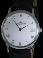 Pre-Owned BAUME & MERCIER CLASSIMA 18KT GOLD SLIM QUARTZ