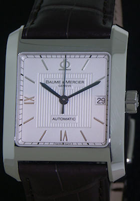 Pre-Owned BAUME & MERCIER HAMPTON SQUARE XL AUTOMATIC