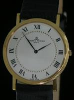 Pre-Owned BAUME & MERCIER 14KT GOLD CASE ULTRA SLIM