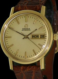 Pre-Owned OMEGA DOUBLE CALENDAR AUTOMATIC