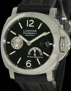 Pre-Owned OFFICINE PANERAI LUMINOR PAM 125 POWER RESERVE
