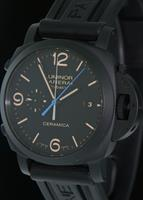 Pre-Owned OFFICINE PANERAI LUMINOR 1950 CERAMIC FLYBACK
