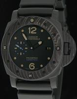 Pre-Owned OFFICINE PANERAI LUMINOR SUBMERSIBLE CARBOTECH