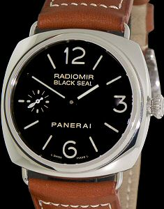 Pre-Owned OFFICINE PANERAI RADOMIR BLACK SEAL LTD EDITION