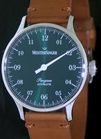 Pre-Owned MEISTERSINGER PANGAEA GREEN DIAL AUTOMATIC