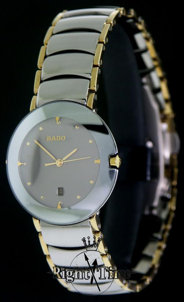 Pre Owned Factory >> Rado Coupole Gray Ceramic r22326122 - Pre-Owned Mens Watches
