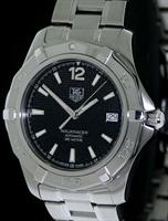 Pre-Owned TAG HEUER AQUARACER AUTOMATIC BLACK