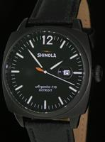 Pre-Owned SHINOLA BRAKEMEN QUARTZ ALL BLACK