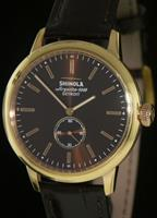 Pre-Owned SHINOLA BEDROCK 42MM BOURBON DIAL