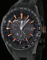Pre-Owned SEIKO ASTRON GPS SOLAR BLK/ORANGE
