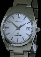 Pre-Owned GRAND SEIKO QUARTZ STEEL WHITE DIAL