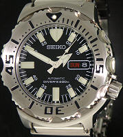 Pre-Owned SEIKO BLACK MONSTER DIVERS