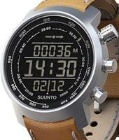 Pre-Owned SUUNTO ELEMENTUM TERRA BROWN LEATHER