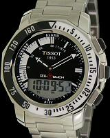 Pre-Owned TISSOT SEA TOUCH BLACK DIAL