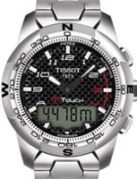 Pre-Owned TISSOT T-TOUCH I I ALL TITANIUM BLACK