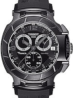 Pre-Owned TISSOT T-RACE CHRONO BLACKOUT
