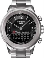 Pre-Owned TISSOT T-TOUCH CLASSIC BLACK