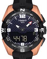 Pre-Owned TISSOT T-TOUCH TITANIUM NBA ROSE PVD