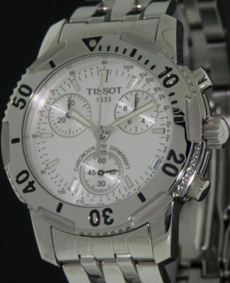 Pre-Owned TISSOT PRS200 SILVER