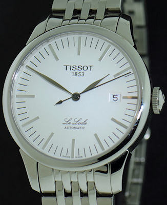 Pre-Owned TISSOT LE LOCLE AUTOMATIC BLACK