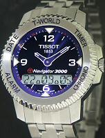 Pre-Owned TISSOT STEEL BLUE NAVIGATOR