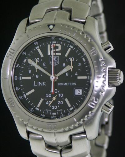 Tag Heuer Link Chronograph Ct1111.ba0550