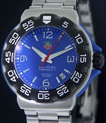 Pre-Owned TAG HEUER FORMULA 1 EXTRA BLUE