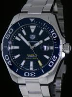Pre-Owned TAG HEUER AQUARACER 43 AUTOMATIC BLUE