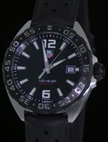 Pre-Owned TAG HEUER FORMULA 1 BLACK DIAL ON RUBBER