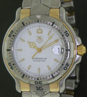 Pre-Owned TAG HEUER 6000 SPORT STEEL & 18KT GOLD
