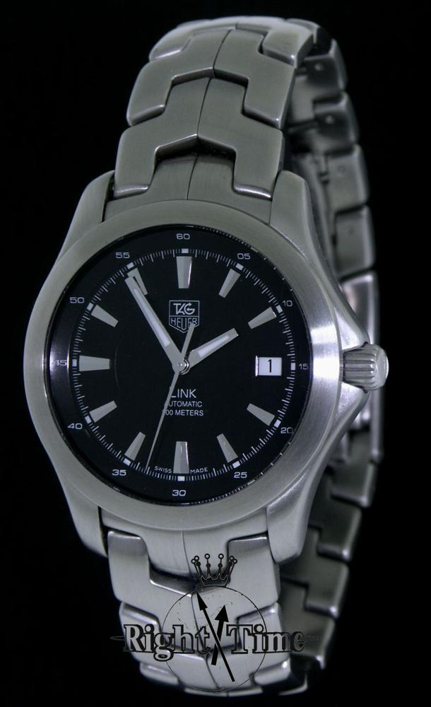 Tag Heuer Stainless Link Automatic Wjf2110 Ba0570 Pre