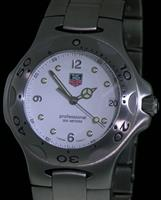 Pre-Owned TAG HEUER KIRIUM QUARTZ DIVER WHITE DIAL