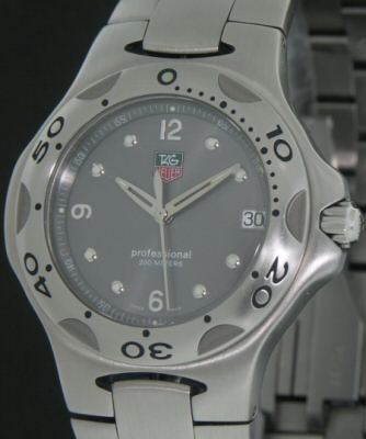 Pre-Owned TAG HEUER KIRIUM QUARTZ DIVER GREY DIAL