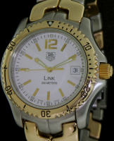 Pre-Owned TAG HEUER 18KT GOLD AND STEEL LINK 42MM