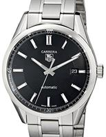 Pre-Owned TAG HEUER CARRERA CALIBRE 5 BLACK DIAL