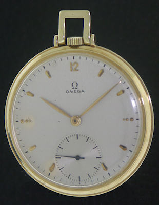 Pre-Owned OMEGA 14KT SOLID GOLD CASE WIND-UP