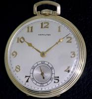 Pre-Owned HAMILTON 14KT GOLD FILLED CASE