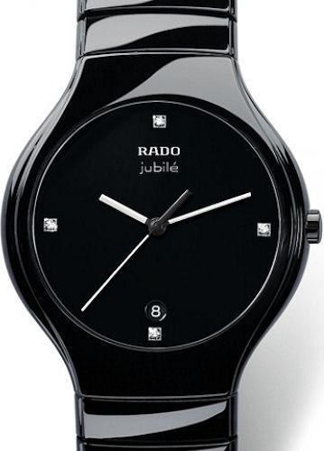 true elegance black r27653742 rado rado true wrist watch