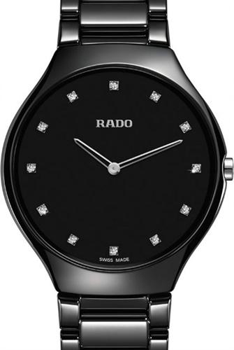 true thinline blackrose gold r27741732 rado rado true