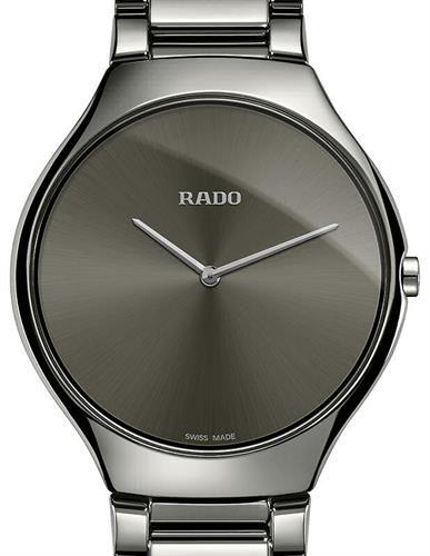 true thinline grey ceramic r27955122 rado rado true